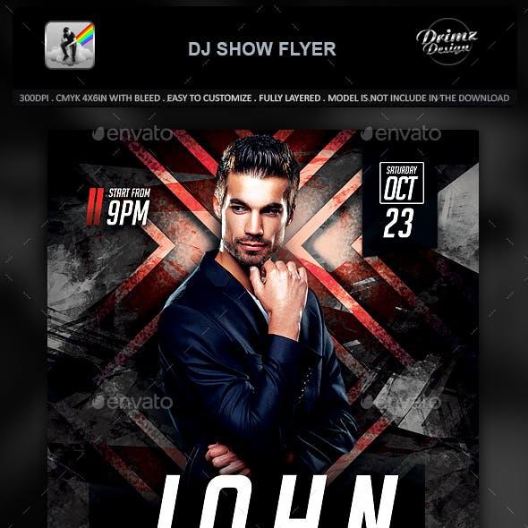 DJ Show Flyer