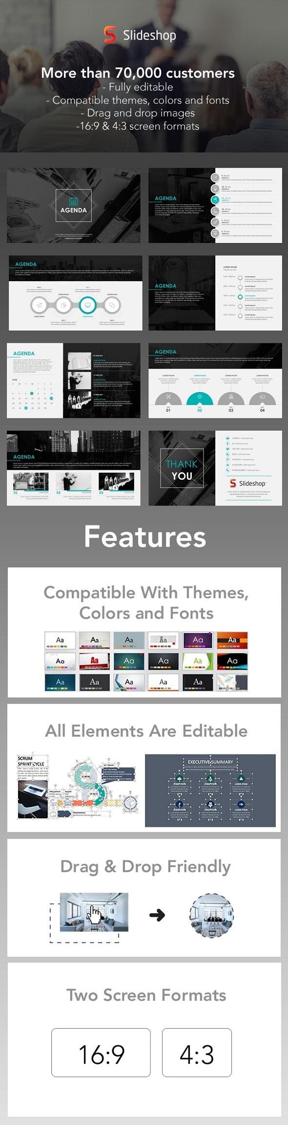 Agenda Template - PowerPoint Templates Presentation Templates
