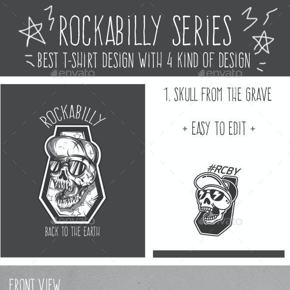 Rockabilly Series T-Shirt Design