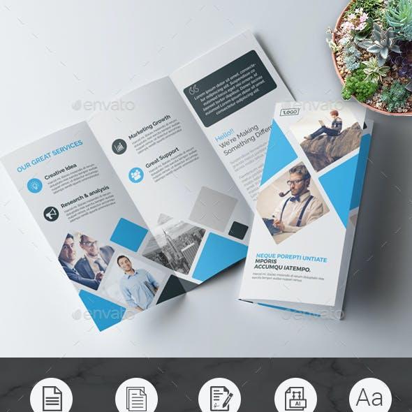 Tri Fold Multipurpose Brochure