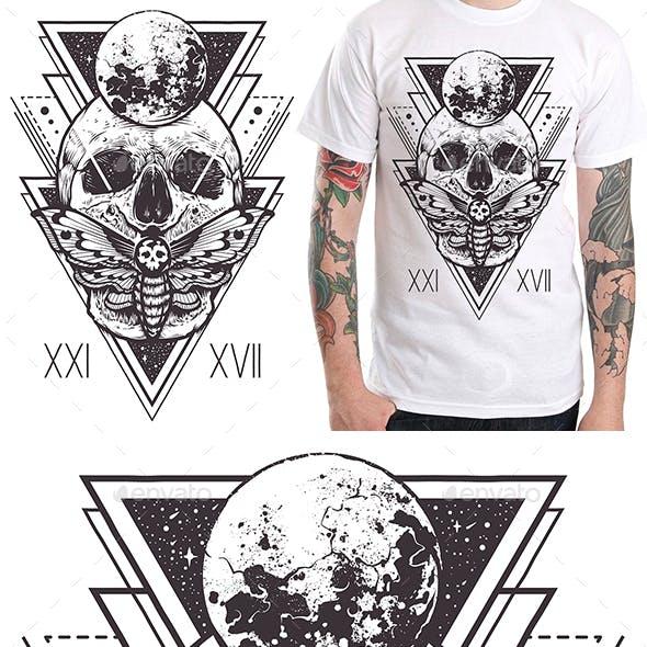 Skull Sacred Design I
