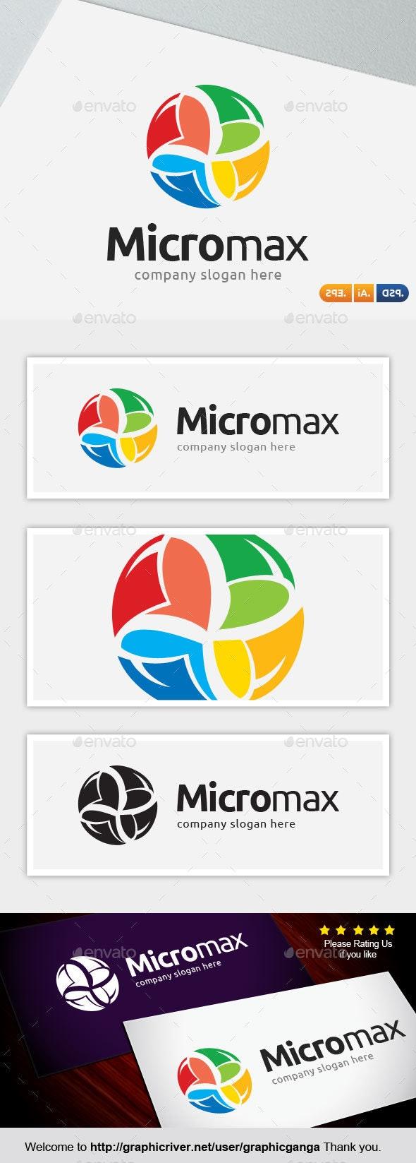 MicroMax - Abstract Logo Templates