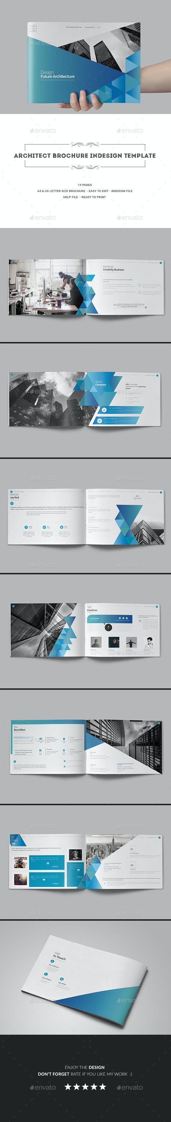 Architect Brochure Indesign Template - Corporate Brochures