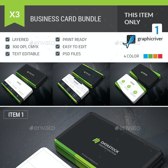 Professional Business Card Bundle