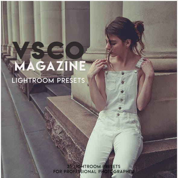 VSCO Fashion Lightroom Presets