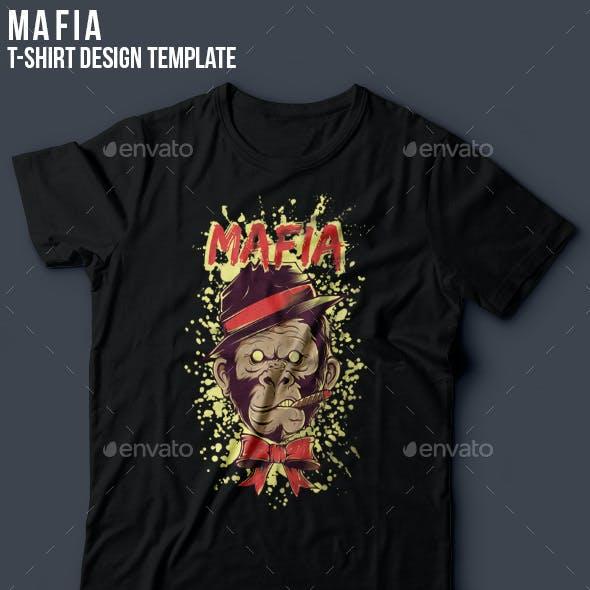 Mafia T-shirt Template