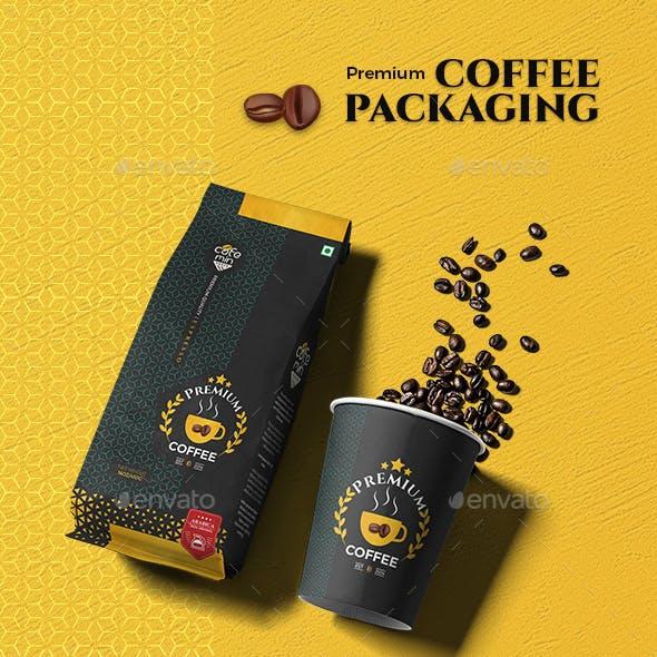 Premium Coffee packaging