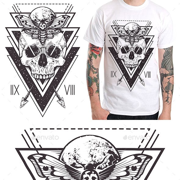 Skull Sacred Design II