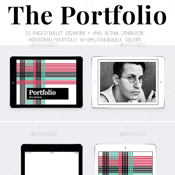 Ipad&Tablet The Portfolio