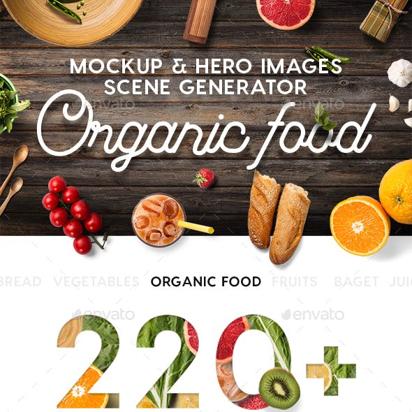 Food Graphics, Designs & Templates from GraphicRiver