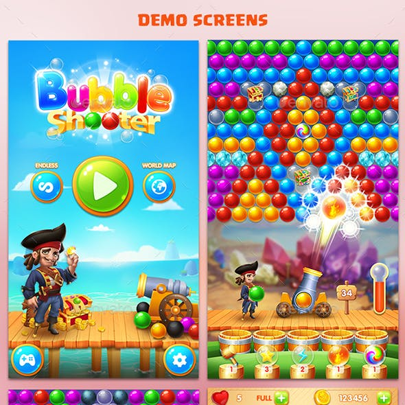 Bubble Shooter - Game Assets