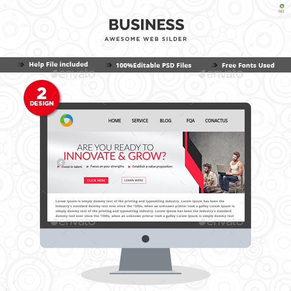 Business Slider Templates