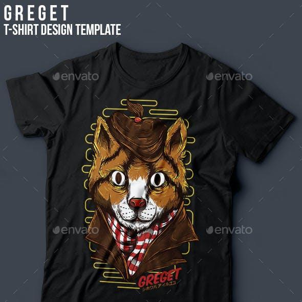 Greget T-Shirt Design