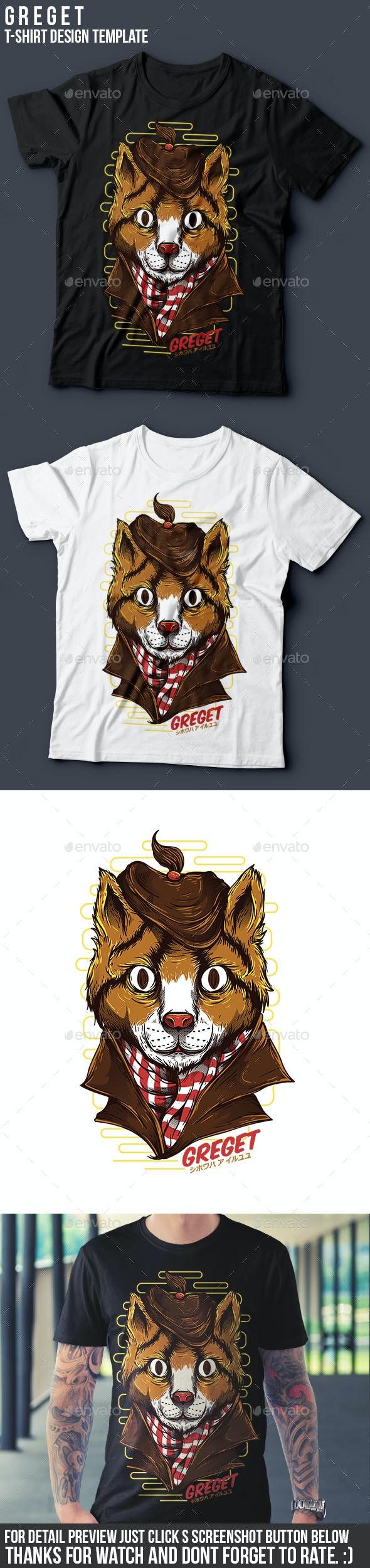 Greget T-Shirt Design - Funny Designs
