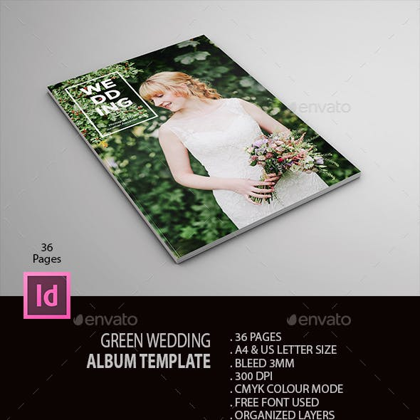 Green Wedding Album