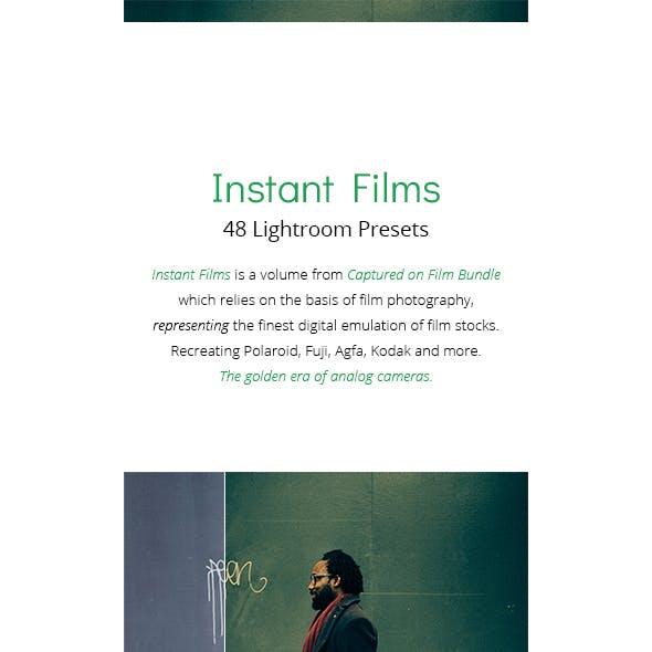 48 Instant Films - Lightroom Presets
