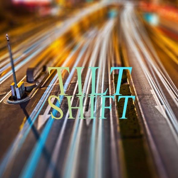 Miniature Tilt Shift Blur Action