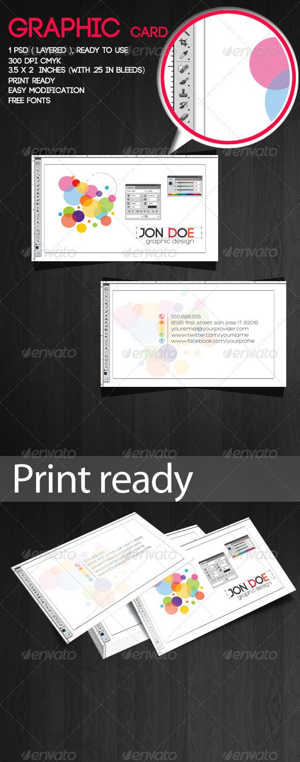 Graphic Card - Creative Business Cards