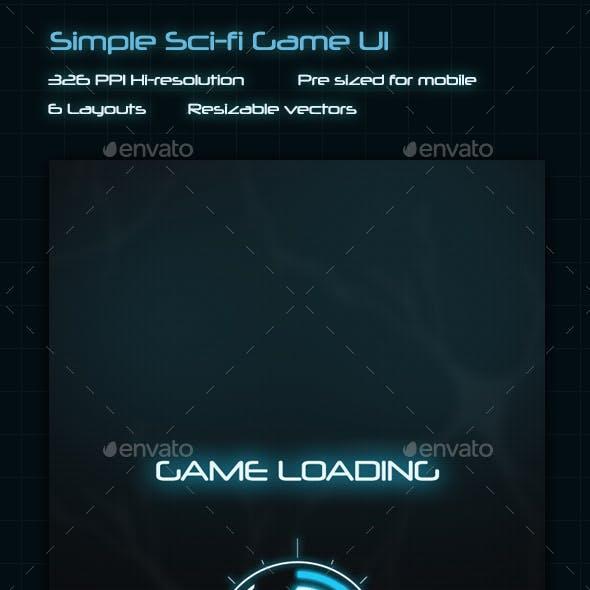 Healer - Sci-Fi Game UI