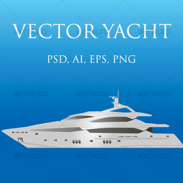 VECTOR YACHT - Man-made Objects Objects
