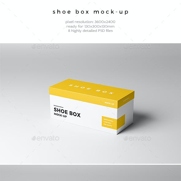 Shoe Box Mock-Up