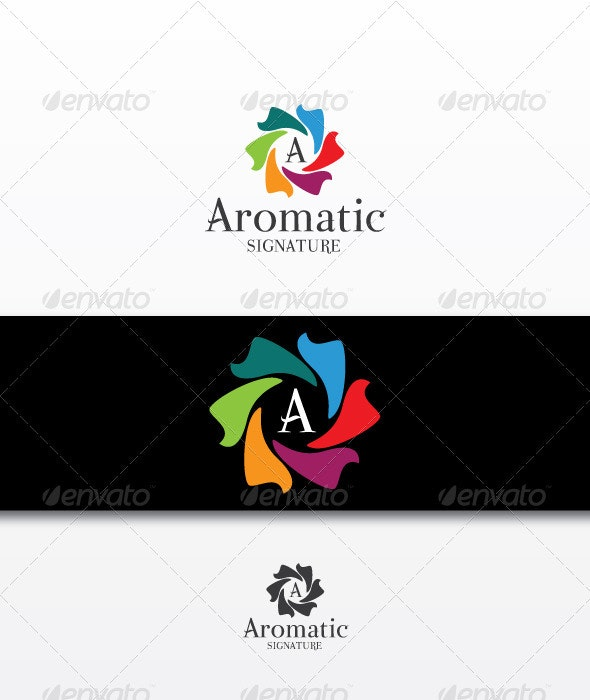 Aromatic - Letters Logo Templates