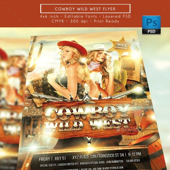 Cowboy Wild West Flyer