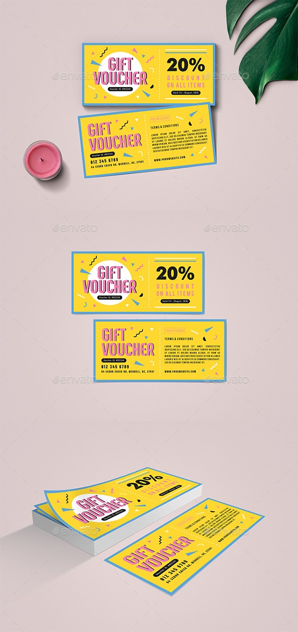 Summer Gift Voucher - Loyalty Cards Cards & Invites