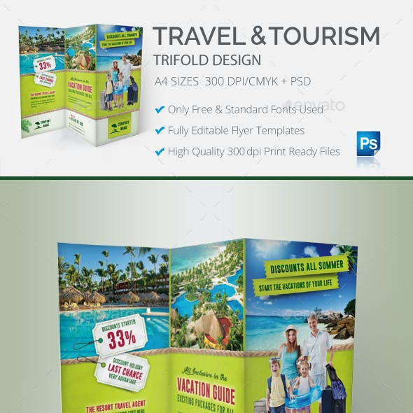 Travel & Tourism Trifold
