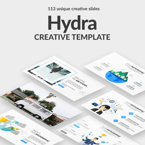 Hydra Creative Keynote Template