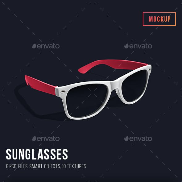 Sunglasses Mockup