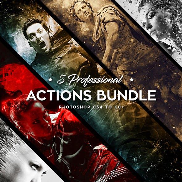 Five Photoshop Actions Bundle