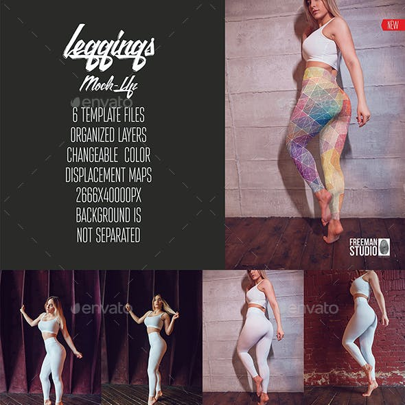 Leggings Mock-Up Vol.2 2017