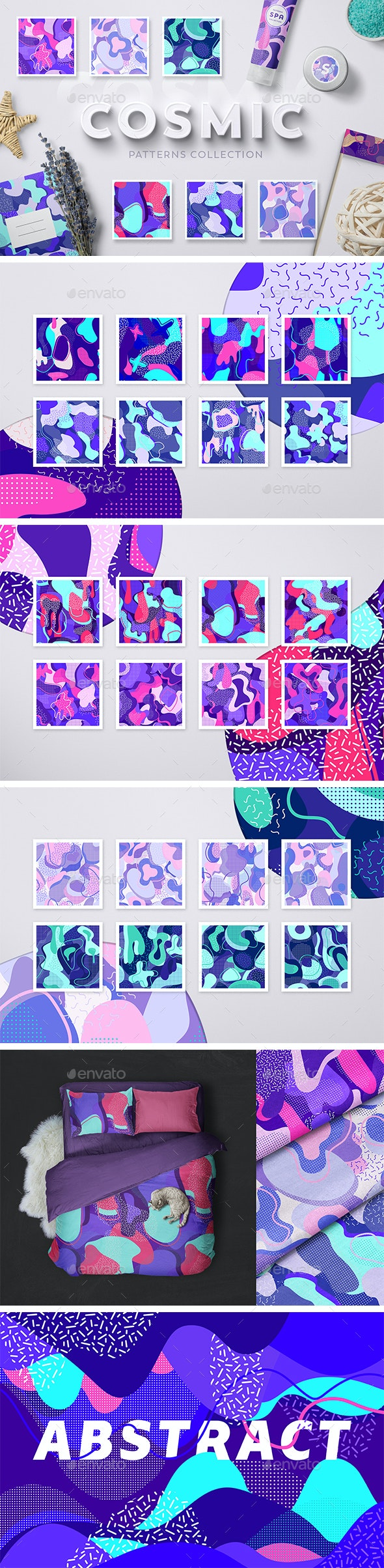Cosmic Patterns Collection - Patterns Backgrounds