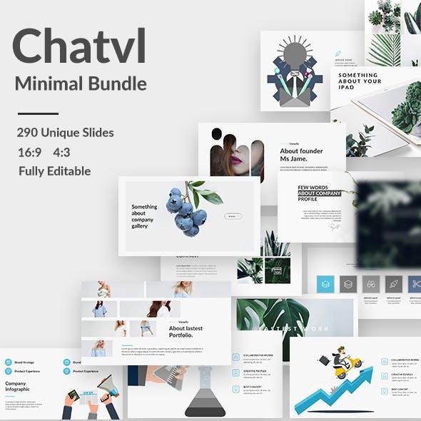 Chatvl Minimal Bundle Google Slide Template
