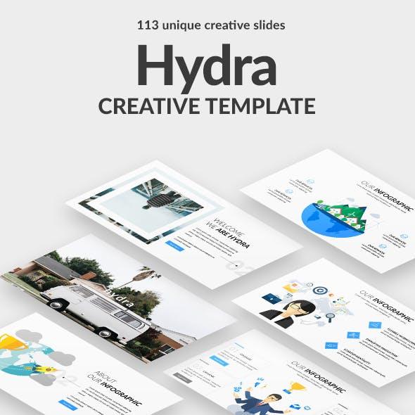 Hydra Creative Google Slide Template