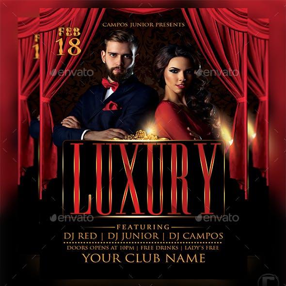 Luxury - Flyer Template