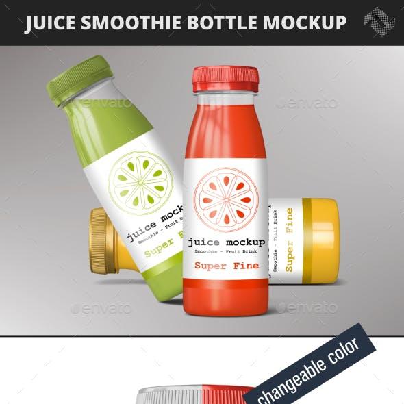 Bottle Smoothie Juice Mockup