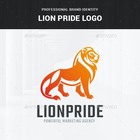 Lion Pride Logo Template