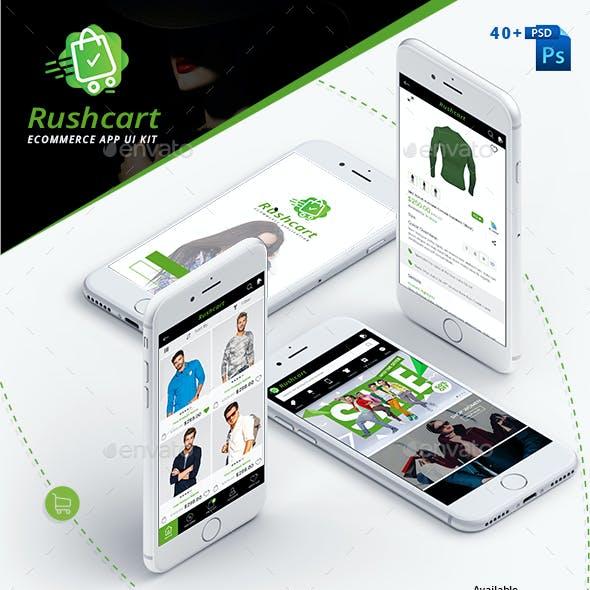 RushCart  - Multipurpose Ecommerce App UI Kit
