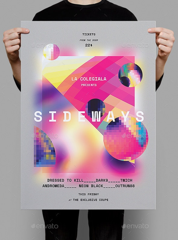 Sideways Poster / Flyer - Clubs & Parties Events