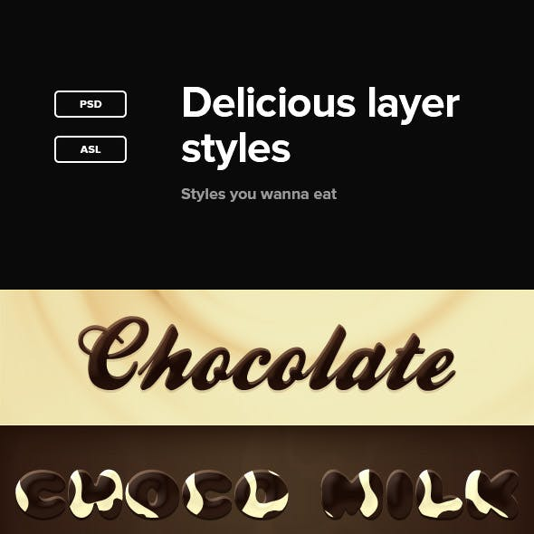 Delicious Layer Styles