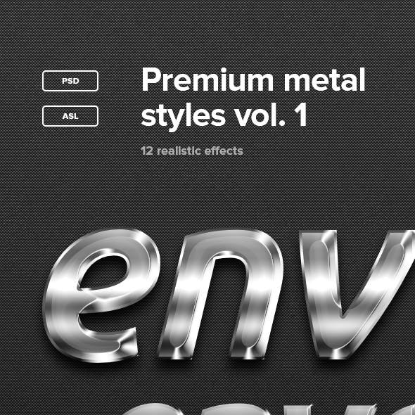 Premium Metal Styles Vol. 1
