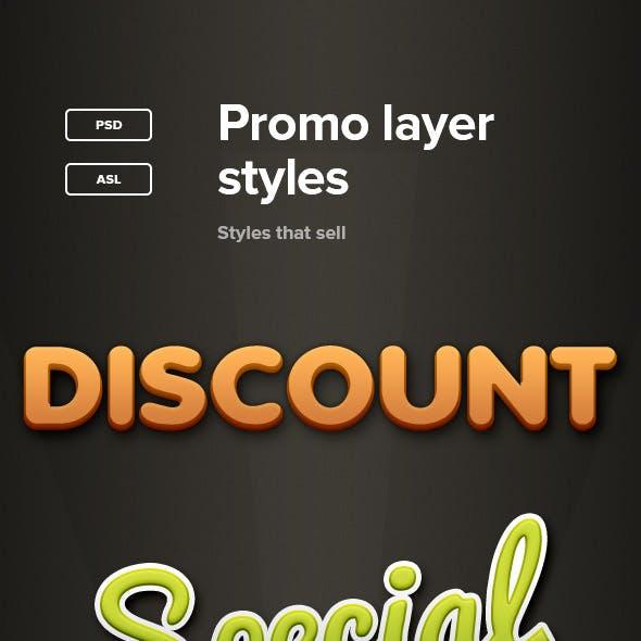 Promo Layer Styles