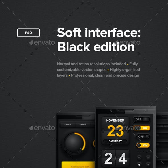 Soft Interface: Black Edition