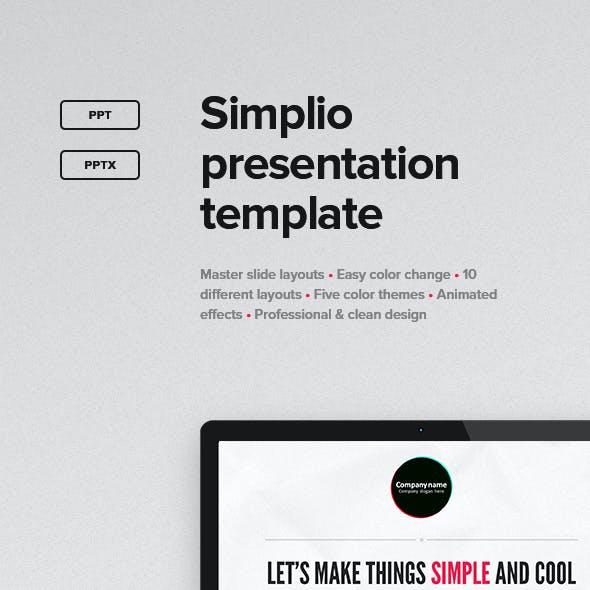 Simplio Presentation Template