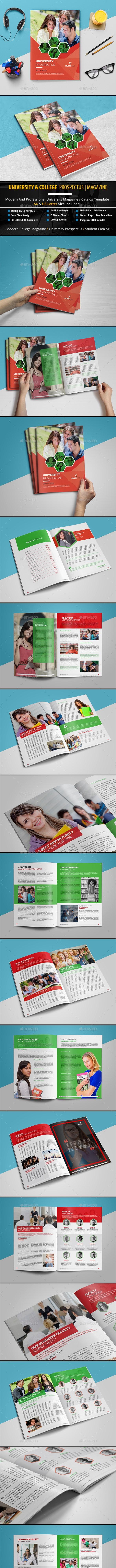 University & College Prospectus   Magazine - Catalogs Brochures