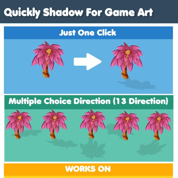 Quickly Shadow For Game Art