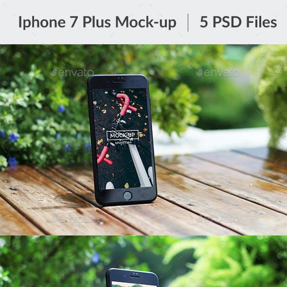 Phone 7 Plus Mock-up