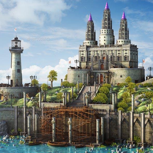 Fantasy Medieval Landscape